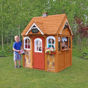 детский игровой домик люкс