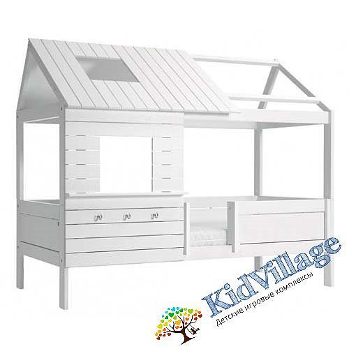 детская кроватка домик
