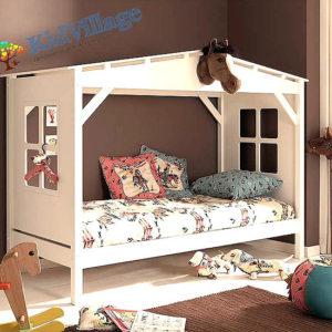 детская домик кроватка