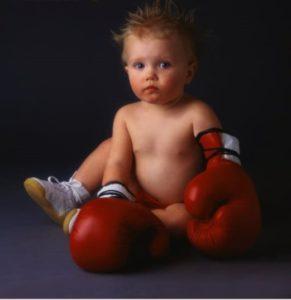 бокс в детстве