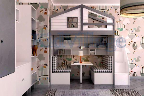 кроватка-домик Финляндия, фото 2