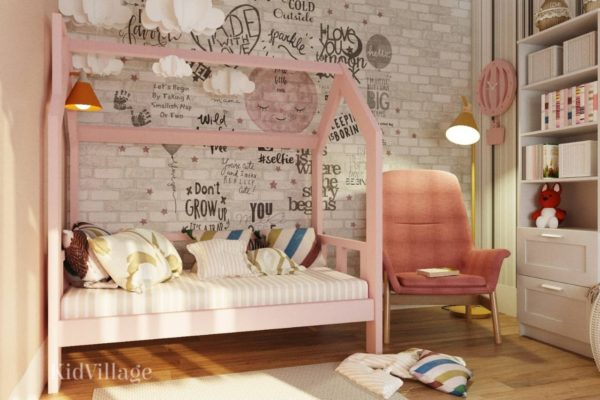кровать домик юта 3-2