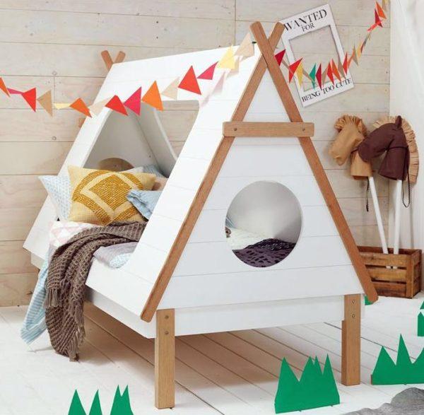 кроватка-домик индиана1