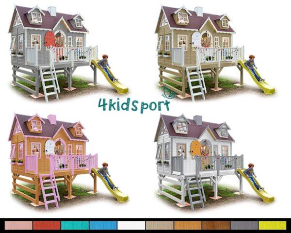 детский игровой домик из дерева25