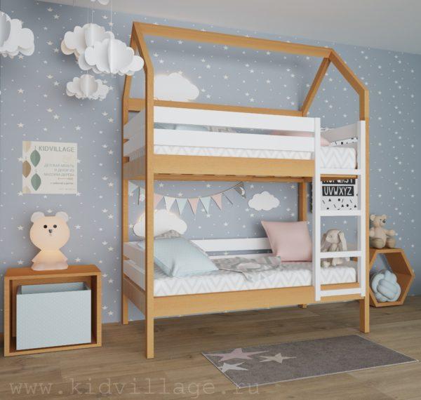 детская кроватка из сосны1