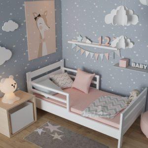 кроватка из бука