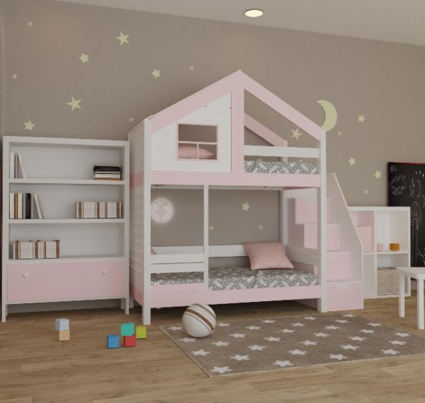 детская кроватка из сосны21