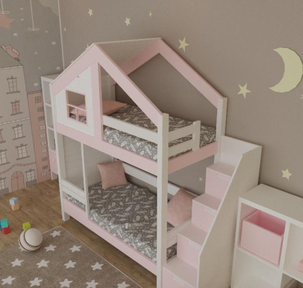 детская кроватка из сосны22