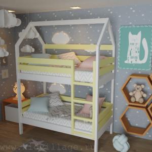 детская кроватка из сосны