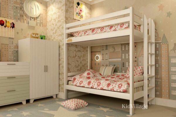 двухъярусная кровать глори
