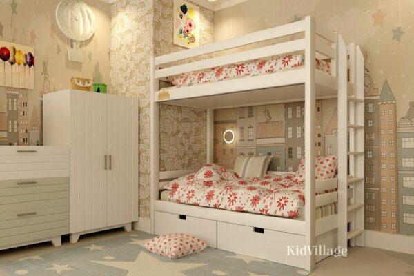 двухъярусная кровать глори3