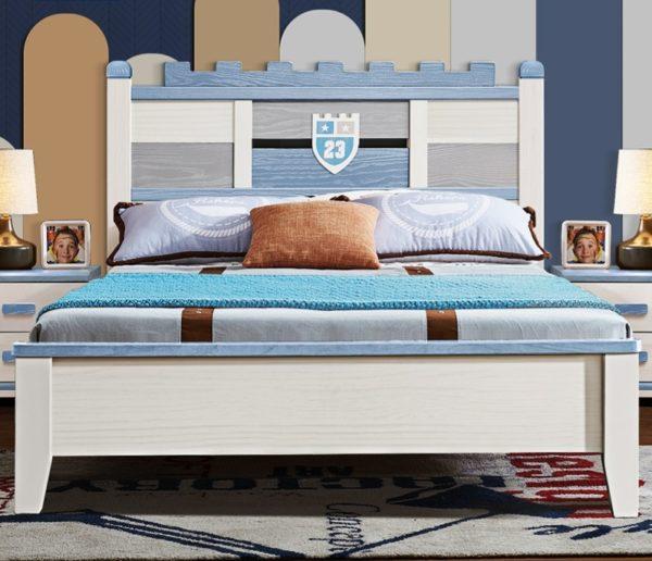 кровать для мальчика в рыцарском стиле