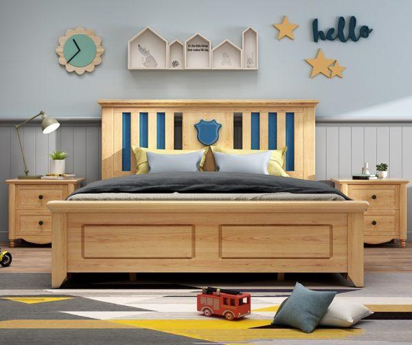 кровать для мальчика из массива1