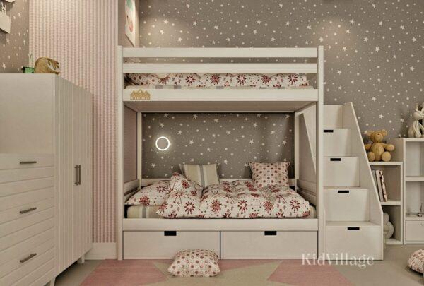 двухъярусная кровать глори1