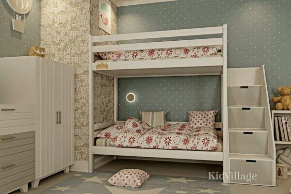 двухъярусная кровать глори2