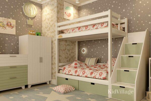 двухъярусная кровать глори4