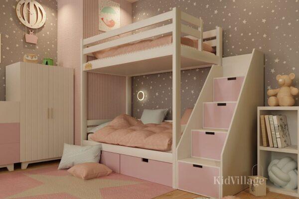 двухъярусная кровать глори5