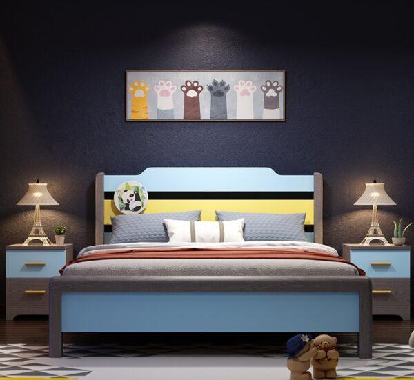 кровать для подростка из массива