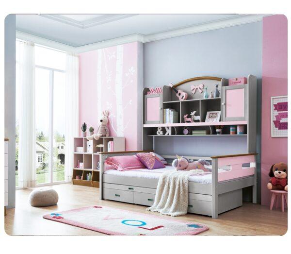 детская кровать со шкафчиками4