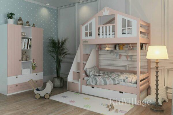 кровать домик хельсинки1