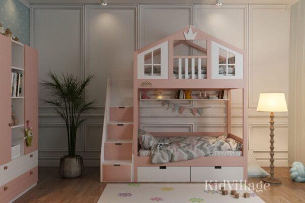 кровать домик хельсинки
