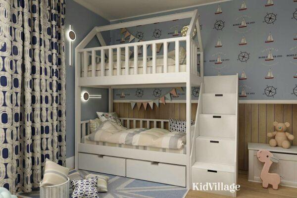 кровать домик сиэтл